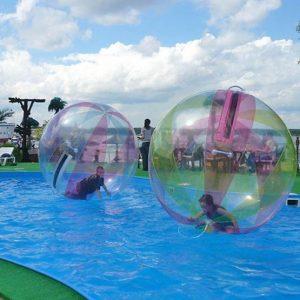 WATER BALLS AND WATER FUN