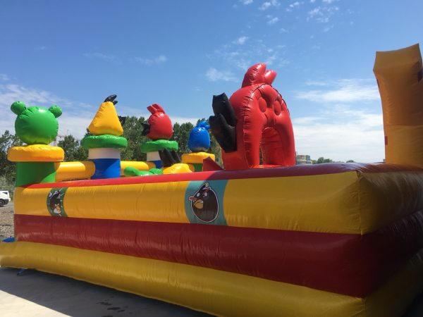 inflatable castle naduvaem kazak надуваме замък