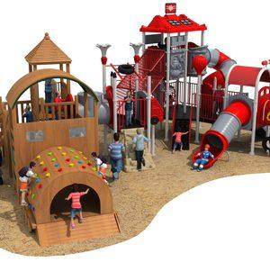 HD18-089А outdoor children playground vanshen detski playground външен детски плейграунд