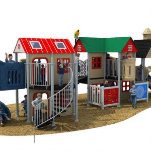 HD18-132A outdoor children playground vanshen detski playground външен детски плейграунд