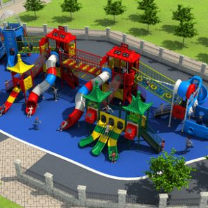 HD-044A outdoor children playground vanshen detski kat външен детски кът