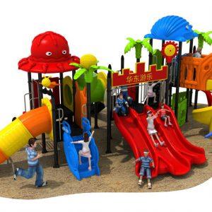 HD18-124A outdoor children playground vanshen detski playground външен детски плейграунд