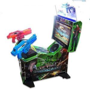 electronic game shooting